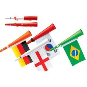 Emblémázott vuvuzela