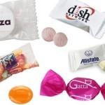 Cukorka céges reklám édességek