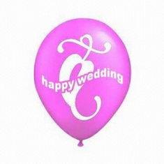Esküvői dekoráció lufik