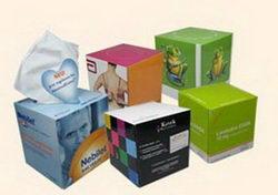 Reklám papírzsebkendők
