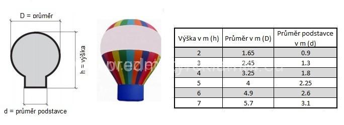 Egyedi felfújható ballonok