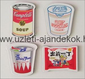 Céges reklám hűtőmágnesek